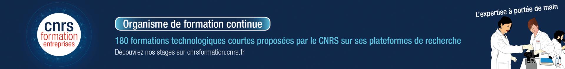 CNRS formation standard